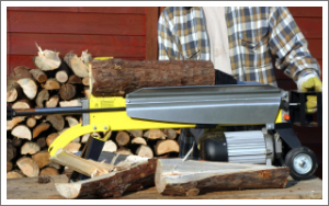 Small cheap domestic log splitters